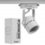 Spot Para Trilho Eletrificado Furlight FL3015 Dicróica/PAR16 GU10 Ø60x140mm Branco