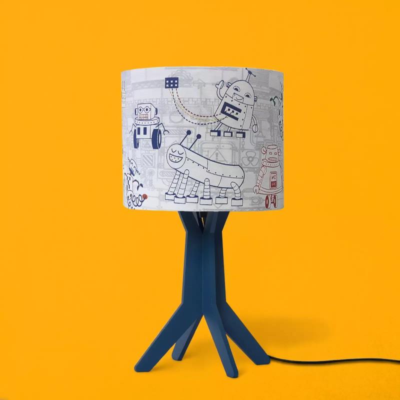 Abajur Carambola ARB Robot 1L E27 Bivolt 400x200x200mm