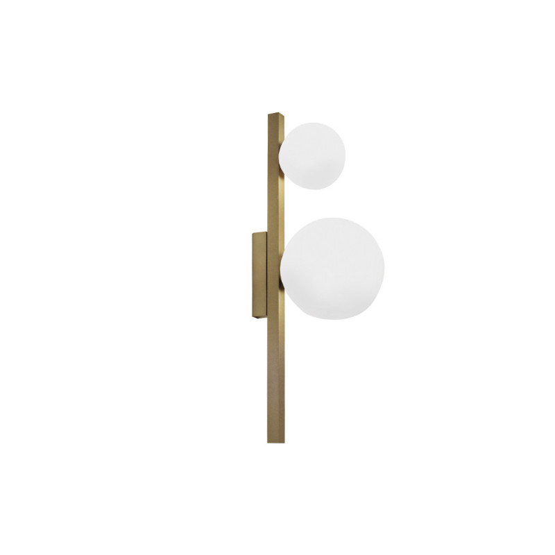 Arandela Casual Light Quality ARH1535DO Orbit  2L G9 10W 160X120X400mm Dourado