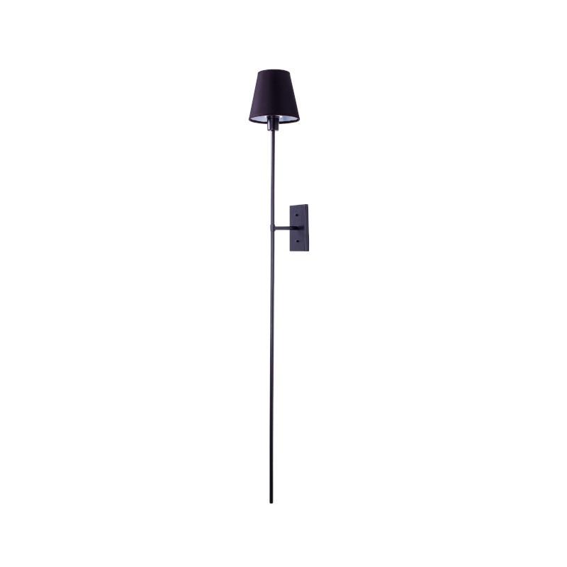 Arandela Foco Metallo AR107/Q Lunga Quadrada 1L E27 1390x150x180mm