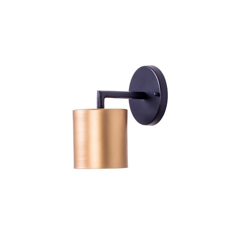 Arandela Foco Metallo AR117/10 Cilindro 10cm 1L G9 Halopin 180x100x160mm