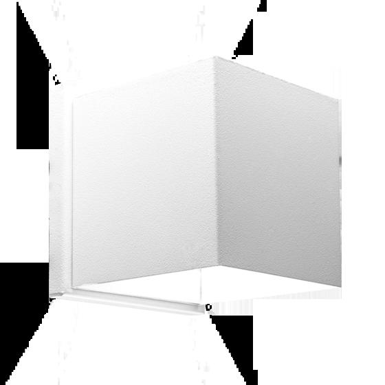 Arandela Incolustre 500.30 Effet03 2 Fachos 1L G9 110x110x90mm Branco