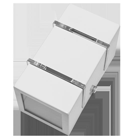 Arandela Incolustre 502.20 2 Friso 1L G9 150x80x80mm Branco