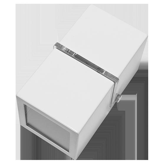 Arandela Incolustre 502.34 1 Friso 1L G9 150x80x80mm Branco