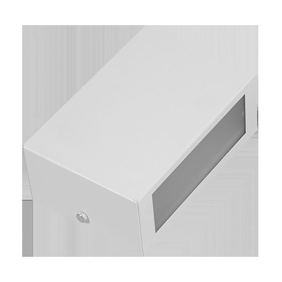 Arandela Incolustre 552.24 Mini 1L E27 170x117x70mm Branco