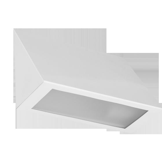 Arandela Incolustre 552.30 Mini 1L E27 210x145x90mm Branco