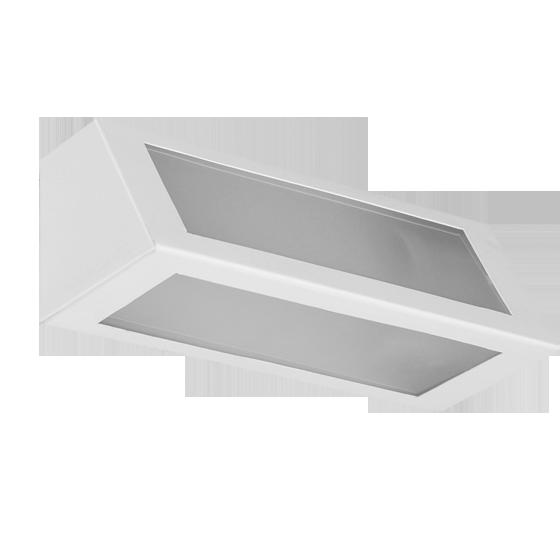Arandela Incolustre 552.56 Mini 1L E27 210x82x85mm Branco