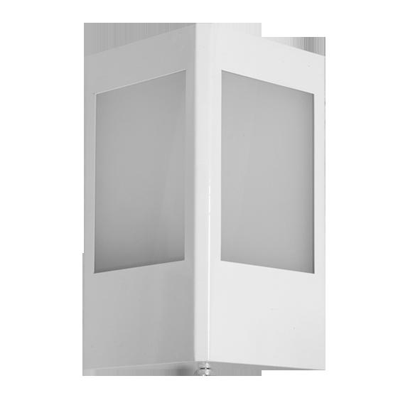 Arandela Incolustre 552.64 Mini 1L E27 210x160x100mm Branco