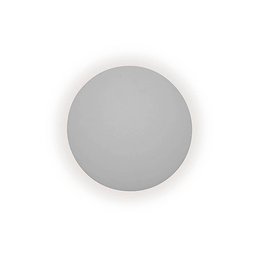 Arandela LED Newline 341LED1 Pleine Lune 6W 2700K 127V Ø400x90mm