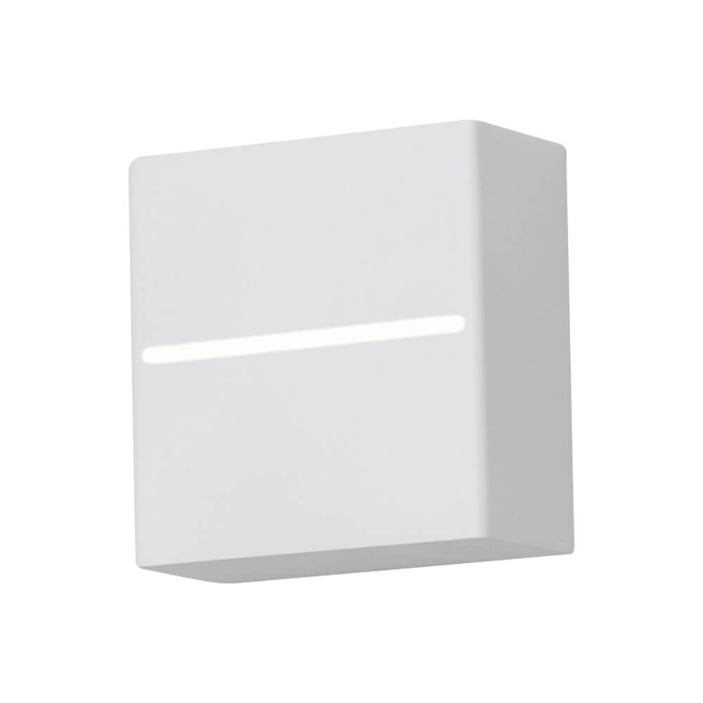 Arandela LED Newline 9584LED2 New Trace Externa 2 Fachos IP43 6W 2700K 220v 100x50x100mm