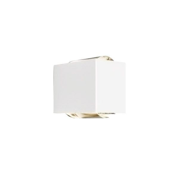 Arandela LED Newline SNT023LED1 Lens 2 Fachos Aberto+Fechado 12W 2700K 127V 85x111x92mm