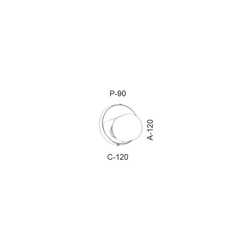 Arandela Led Old Artisan AR-5392 5.5W 2700K 220V 120x120x90mm