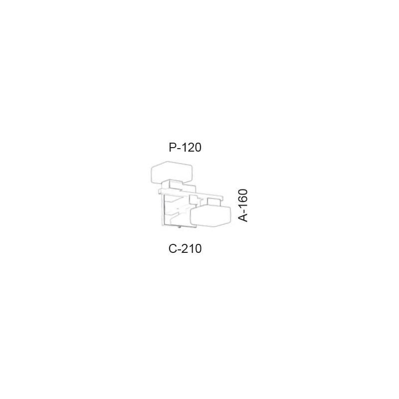 Arandela Led Old Artisan AR-5395 11W 2700K 110V 160x210x120mm