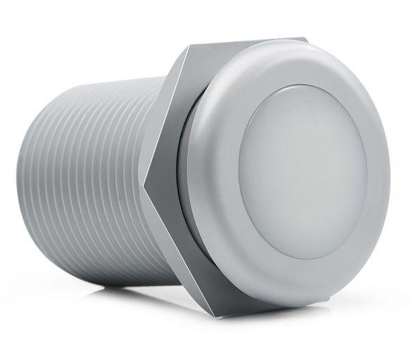 Balizador de Solo LED Brilia 443439 1W 3000K IP65 Ø31x41mm (Blister com 2 unidades)
