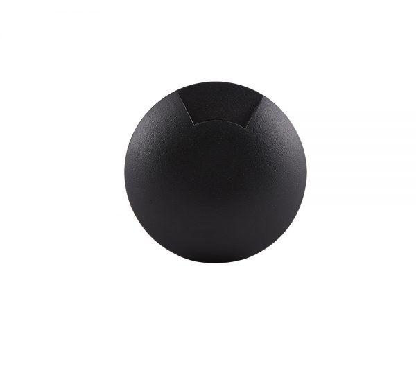 Balizador Embutido LED Brilia 302600 IP67 1 Facho 0,75W 2700K 40G Bivolt Ø58x92mm - Preto