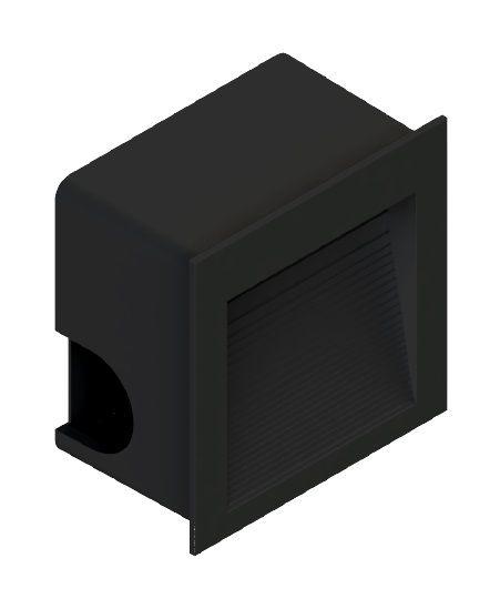 Balizador Embutir LED Save Energy SE-355.1505 1,5W 3000K 60G Bivolt 80x80x44mm