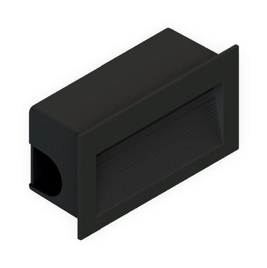 Balizador Embutir LED Save Energy SE-355.1507 3W 3000K 60G Bivolt 115x65x44