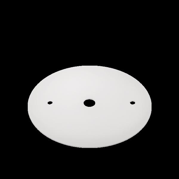 Canopla Plana Para Trilho Stella SD1000BR Branco