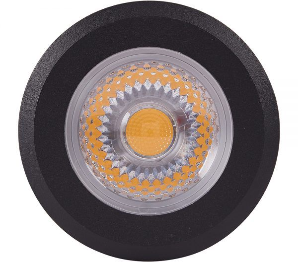Embutido Solo LED Brilia 302686 Redondo IP67 10W 2700K 12G Ø78x120mm - Preto