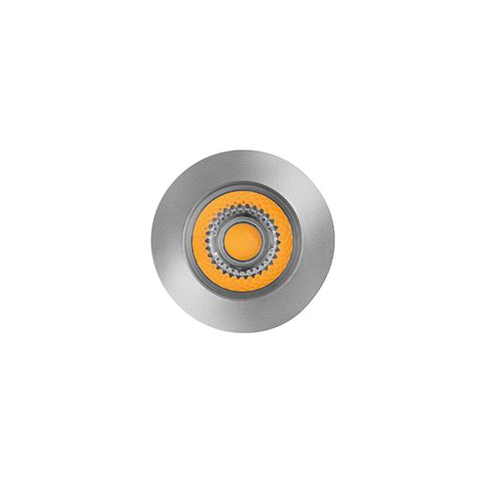 Embutido De Solo LED Stella STH8706/30 Focco Inox 5W 3000K IP67 30G Bivolt - Preto/Inox