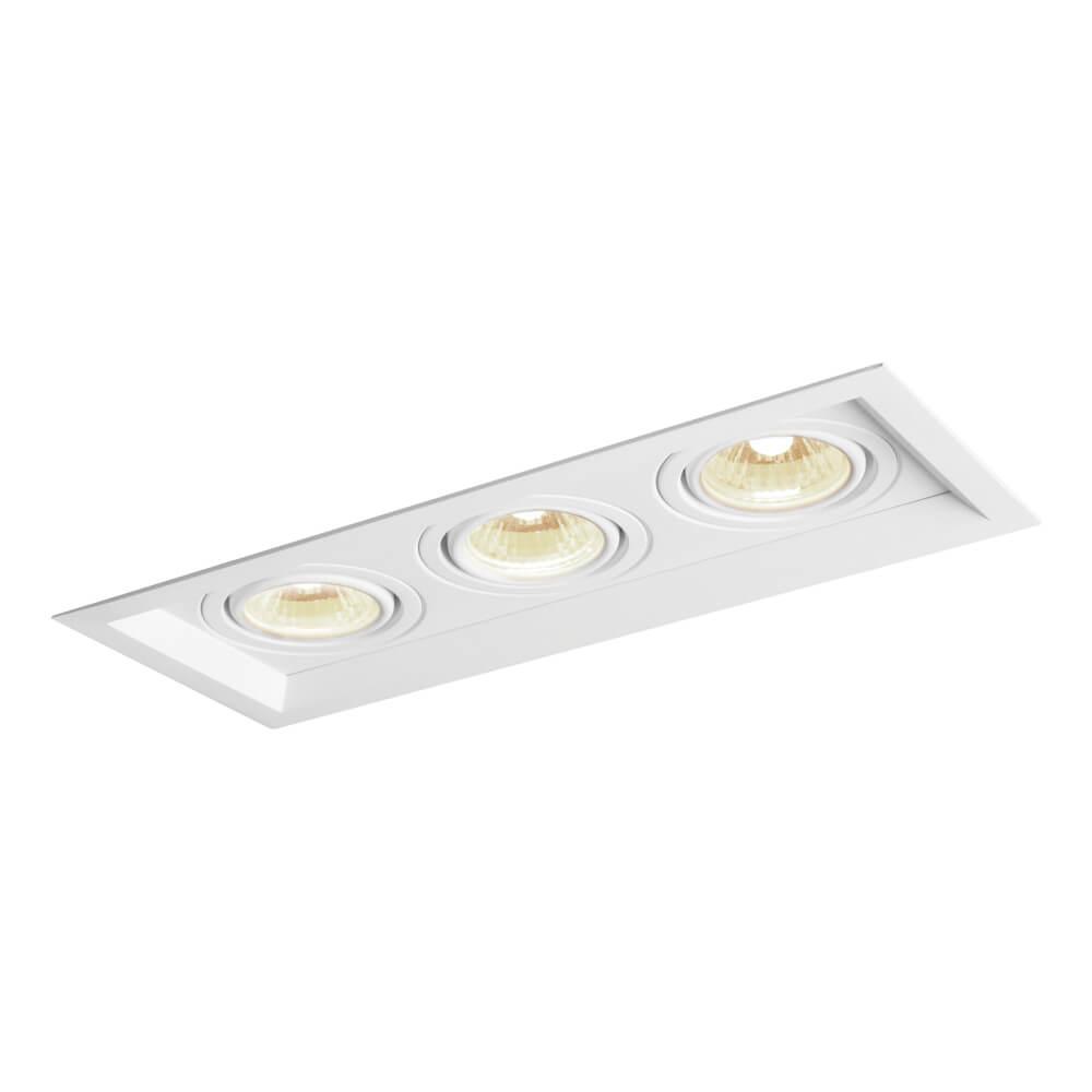 Spot Embutir Newline IN50333 Recuado II 3L PAR20 E27 346x138x120mm