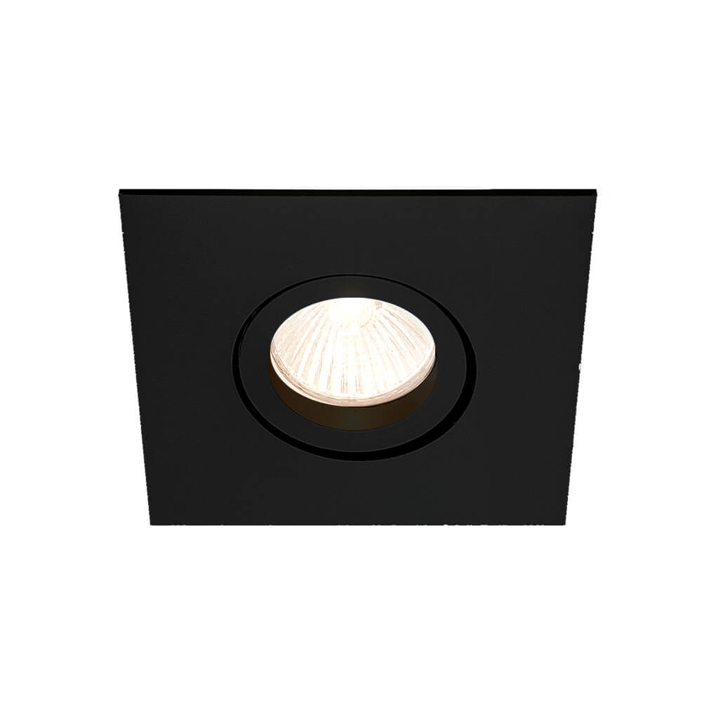Spot Embutir NEWLINE IN55501 LISSE II 1 Mini Dicróica GU10 79x79x50mm