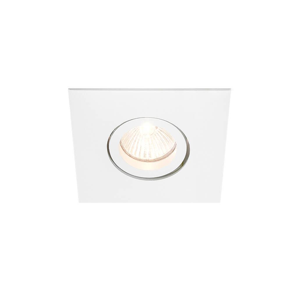 Spot Embutir Newline IN55551 Lisse II Quadrado 1L GU10 AR111 160x160x70mm