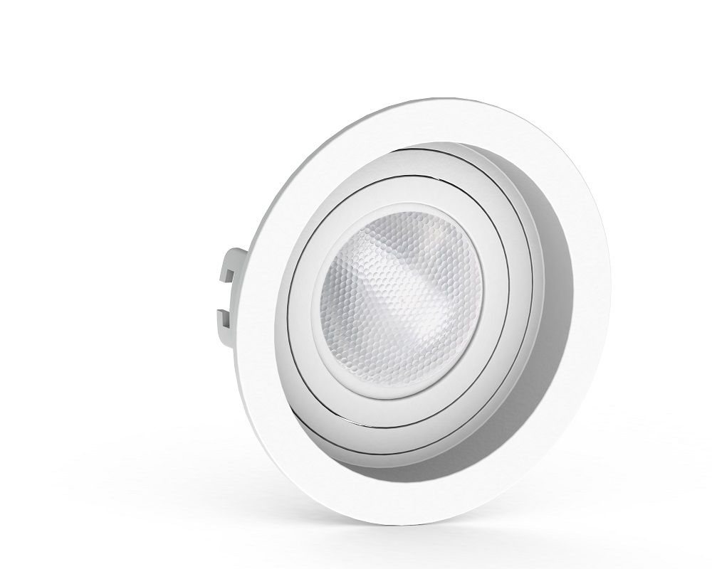 Spot Embutir Save Energy SE-330.1042 Redondo Recuado PAR20 E27 Ø130x75mm Branco