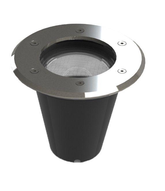 Embutido Solo LED Save Energy SE-335.1238 Aço Inoxidável 12W 2700K 30G Bivolt