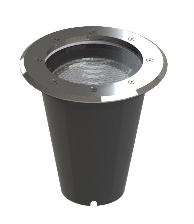 Embutido Solo LED Save Energy SE-335.1240 Aço Inoxidável 15W 2700K 30G Bivolt