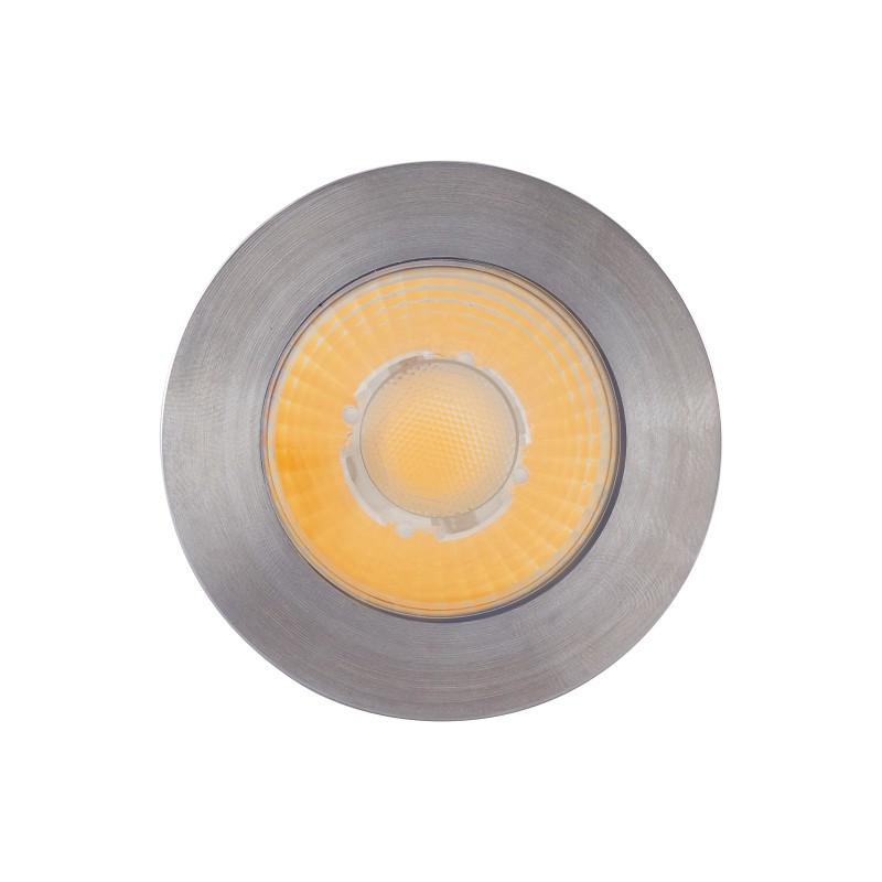 Embutido Solo LED Brilia 304697 Redondo IP67 10W 3000K 30G Bivolt Ø78x120mm