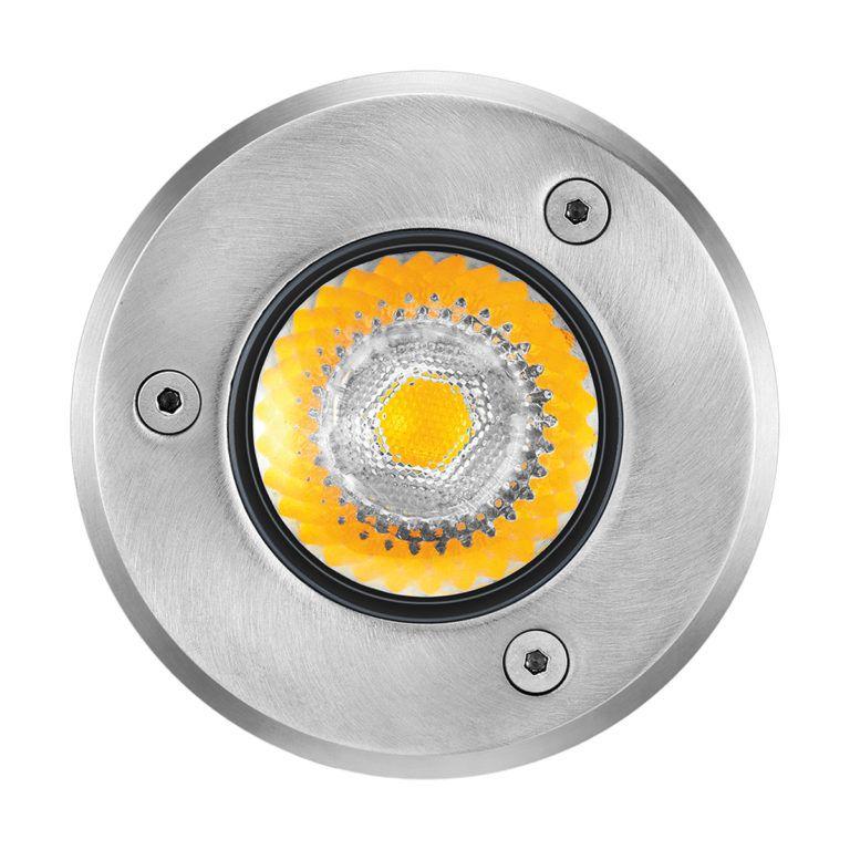Embutido Solo LED Brilia 432570 Redondo IP67 6W 2700K 30G Bivolt