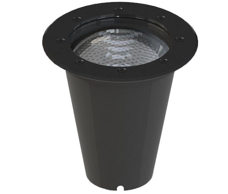Embutido Solo LED Save Energy SE-335.1343 Jet Black 15W 2700K 30G Bivolt