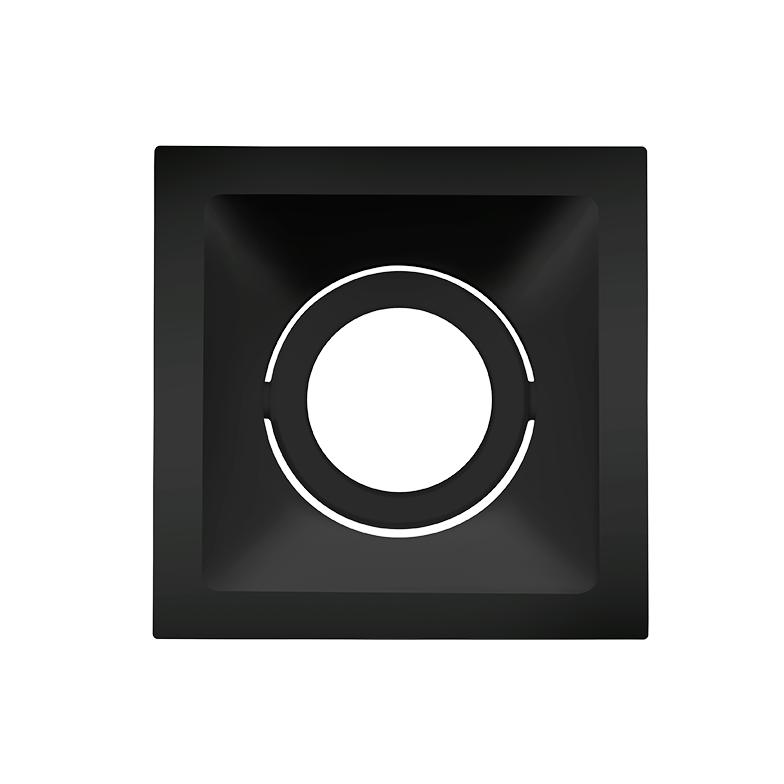 Spot Embutido Stella STH8915PTO Square MR16 Dicróica/Par16 GU10 - Preto