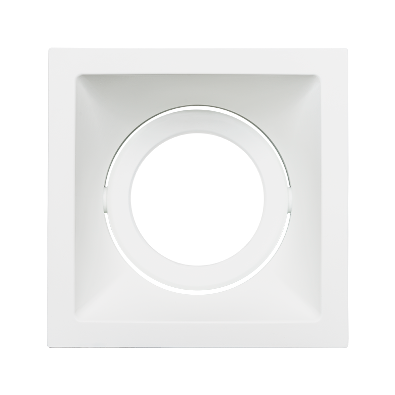 Spot Embutido Stella STH8920BR Square PAR20 E27 - Branco