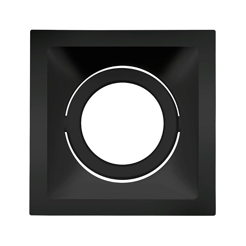Spot Embutido Stella STH8920PTO Square PAR20 E27 - Preto