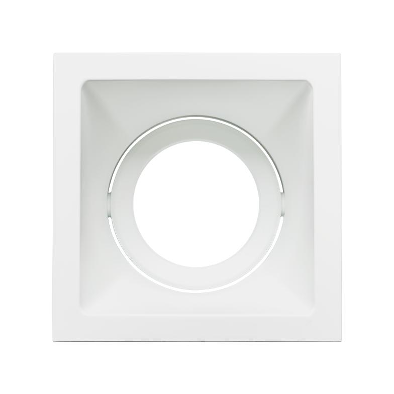 Spot Embutido Stella STH8950BR Square Ghost PAR20 E27 - Branco