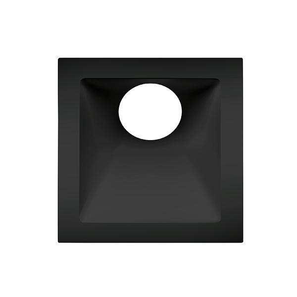 Spot Embutido Stella STH8960PTO Square Angle Mini Dicróica GU10 MR11 25G - Preto