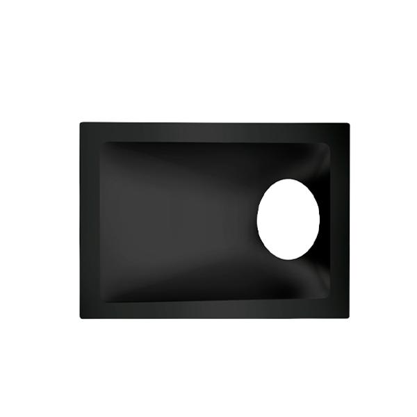 Spot Embutido Stella STH8965PTO Square Angle Mini Dicróica GU10 MR11 40° - Preto