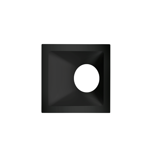 Spot Embutido Stella STH8970PTO Square Angle Dicróica/PAR16 GU10 MR16 25° - Preto