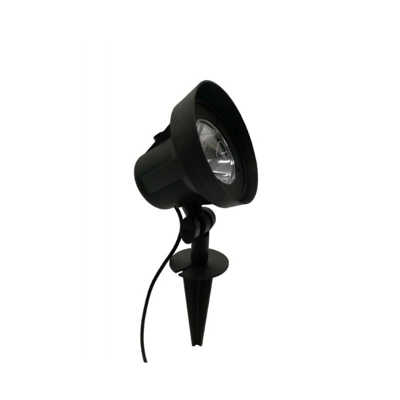Espeto LED Ecoforce 17196 Spot 5W Verde Bivolt IP65 Ø100x310mm