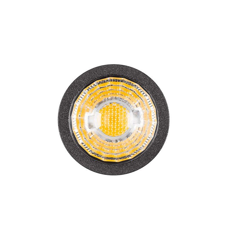 Espeto LED Stella STH7702/30 Mini Focco 3W 3000K IP67 Bivolt 66x210mm - Preto