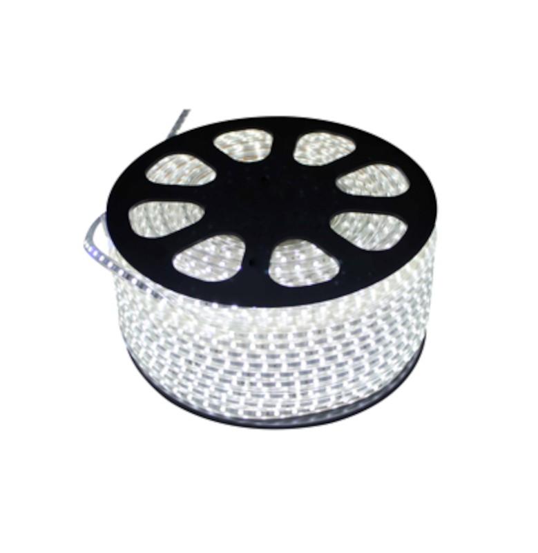 Fita LED 2835 Gaya 9421 220V 4,8W Azul IP65 - Rolo de 100 Metros
