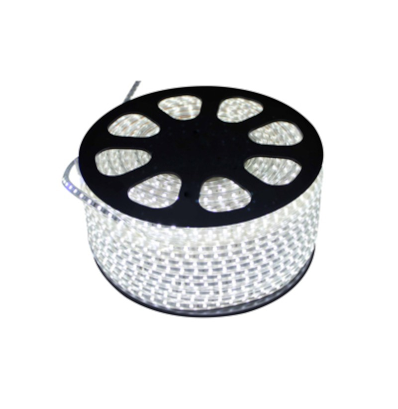 Fita LED 5050 Gaya 9425 110V 14,4W Vermelha IP65 Rolo de 100 Metros