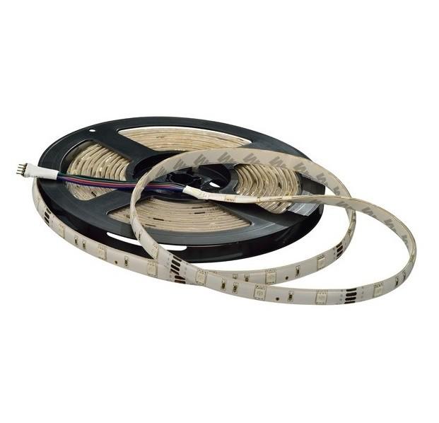 Fita LED 3528 12V Gaya 9405 4,8W Verde IP20 5m