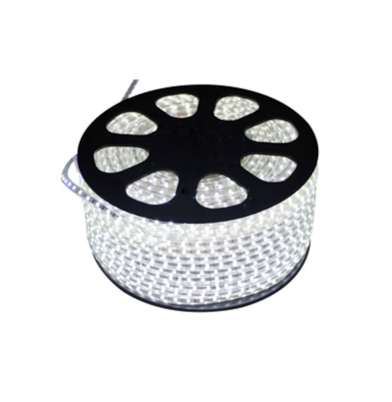 Fita LED 5050 Gaya 9430 220V 14,4W Vermelha IP65 - Rolo de 100 Metros