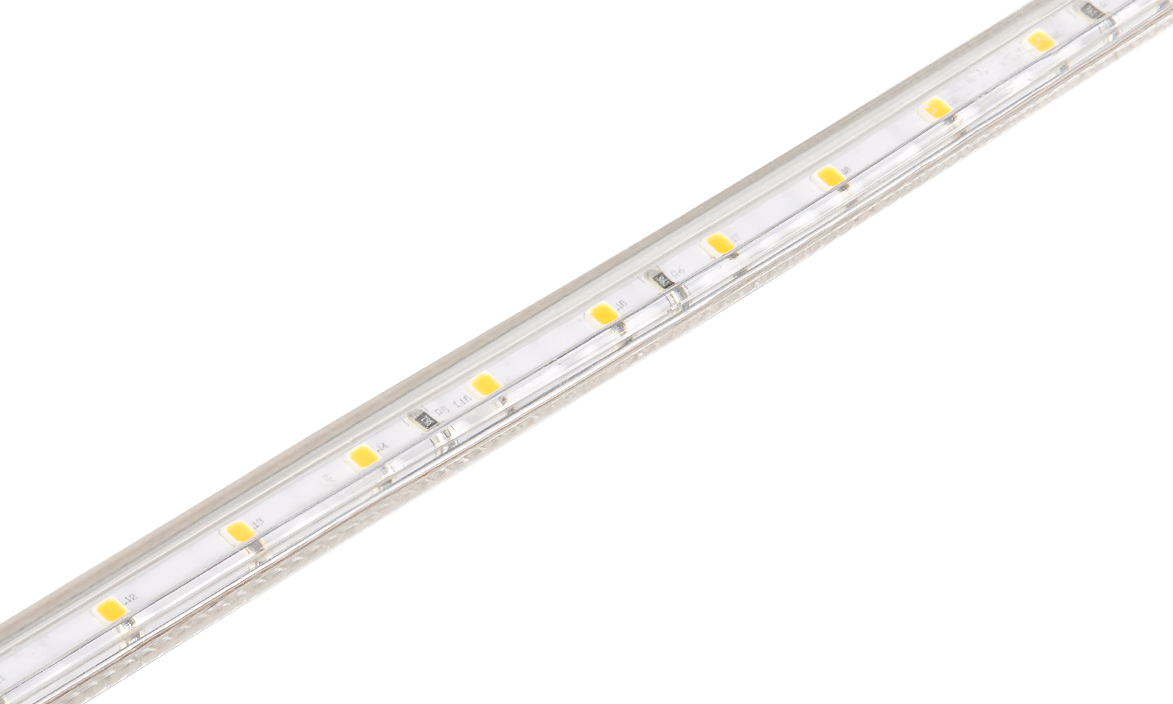 Fita LED Stella STH7801/57 Kite Tensão De Rede Single Line 5 Metros 5W/M 5700K 127V IP67