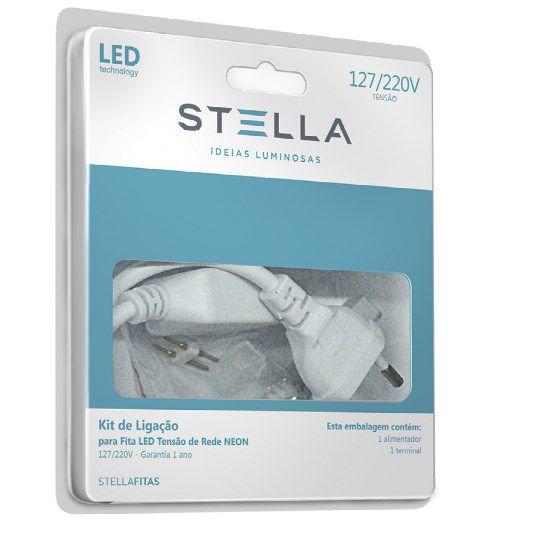 Kit de Ligação p/ Fita LED Double Line 10W/m Stella STH7813