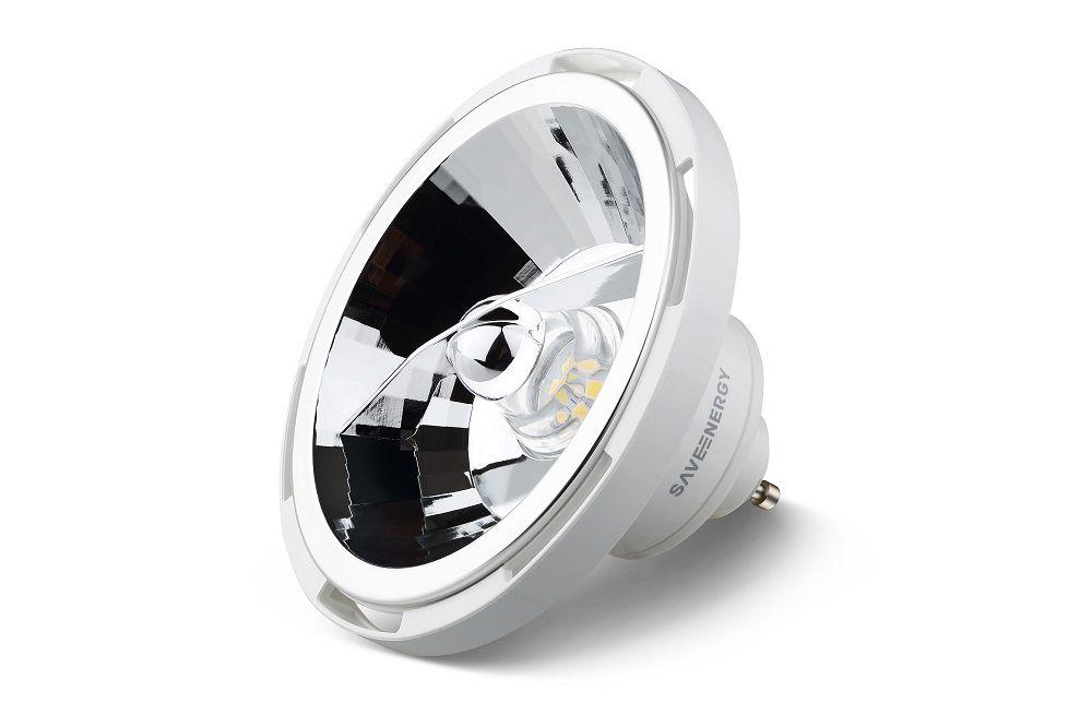 Lâmpada LED Save Energy SE-105.1408 Alto IRC AR111 12W 2700K 10G Bivolt