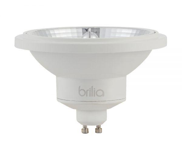 Lâmpada LED Brilia 438459 Refletora 12W 2700K GU10 AR111 24G IP20 Bivolt